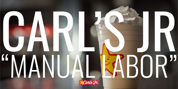 "Carl's Jr. | ""Manual Labor"""