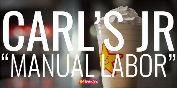 "Carl's Jr. | ""Manual Labor"""