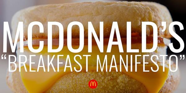 "McDonald's | ""Manifesto"""