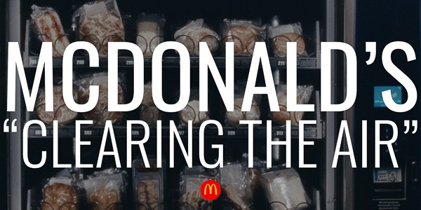 "McDonald's | ""Clearing The Air"""