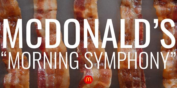 "McDonald's | ""Morning Symphony"""